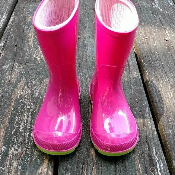 girls size 5 rain boots